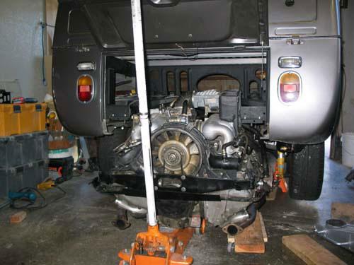VW Type 2 Bus: Porsche Engine Conversion